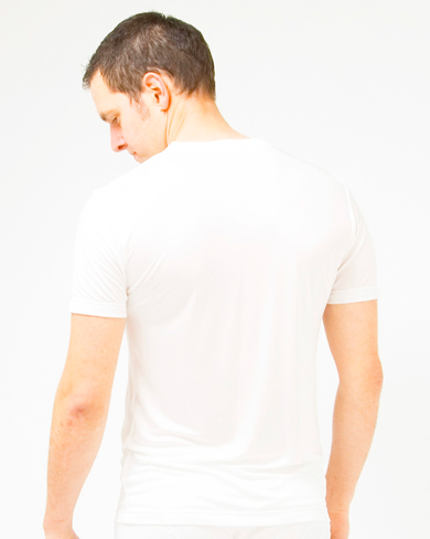 Knitted Silk Mix V Neck T Shirt Men Casual Wear T Shirts The House Of Silk