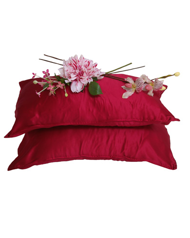Pair of Luxury Silk Pillow Cases