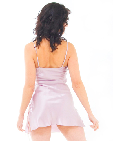 Short Nightie with Tie Sides