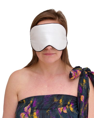 Padded Silk Sleep Mask Women Nightwear Sleep Masks