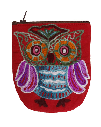 Owl Coin Purse Gifts Bags And Purses The House Of Silk