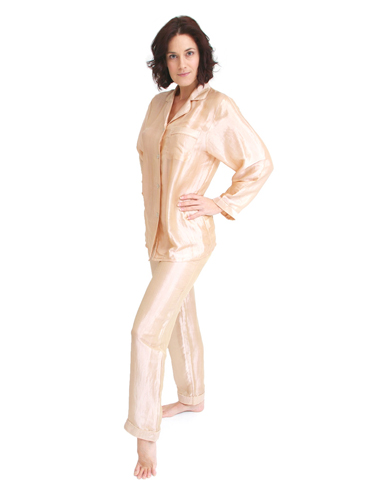 Classic Silk Mix Pyjamas