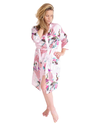 Satin Dressing Gown
